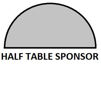 Luncheon 1/2 Table Sponsor